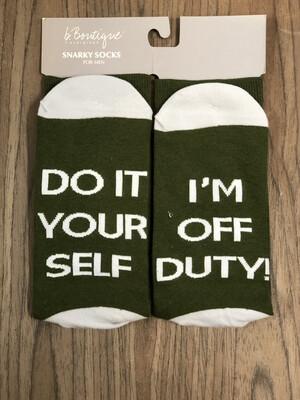 Sock Sayings