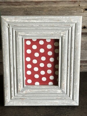 Distressed Gray Wash Frame 5x7