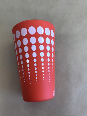 Orange Silipint Cup