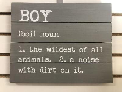 Boy Grey LG