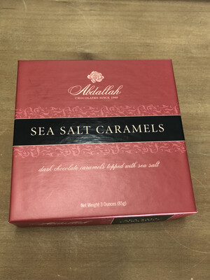 3 oz Sea Salt Caramels