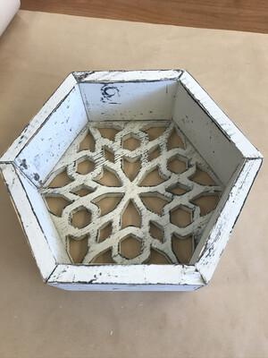 Honeycomb Filigree Shelf