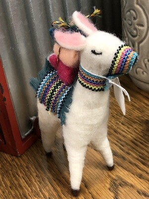 Winter Alpaca