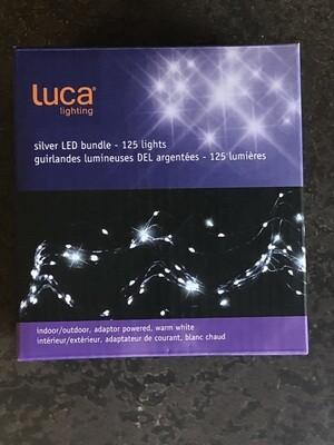Outdoor LED Bundle Silver 125 Lites