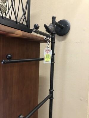 metal bird towel holder