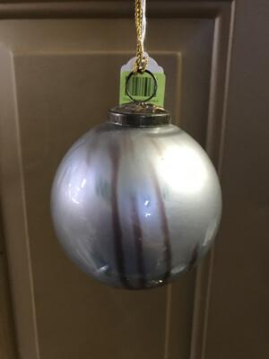 Silver Pearl Ornament