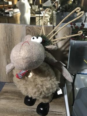 Lg Fur Wobble Moose