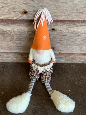Fall Plaid Gnome