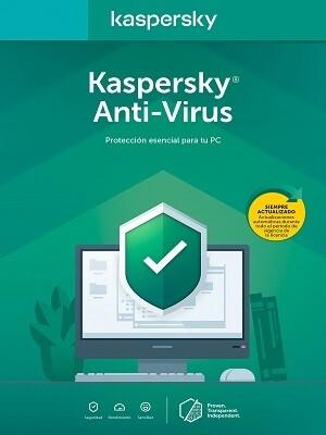 Kaspersky Anti-Virus Licencia base (1 año) 1 PC