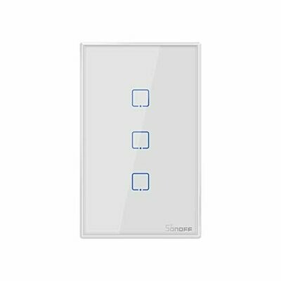 Sonoff Interruptor De Pared 3 Botones Wifi