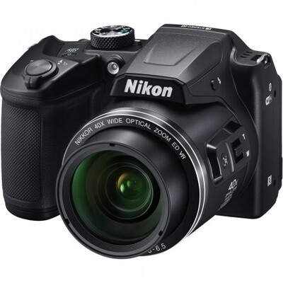Camara Nikon B500, 16MP, 40x Zoom, Wifi, Bluetooth