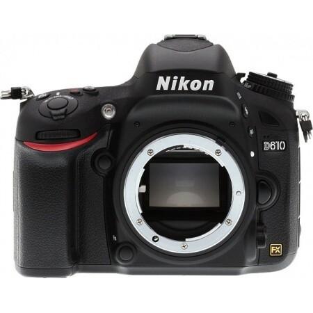 Cámara Nikon D610 Profesional 24.3mp, cuerpo sin objetivo