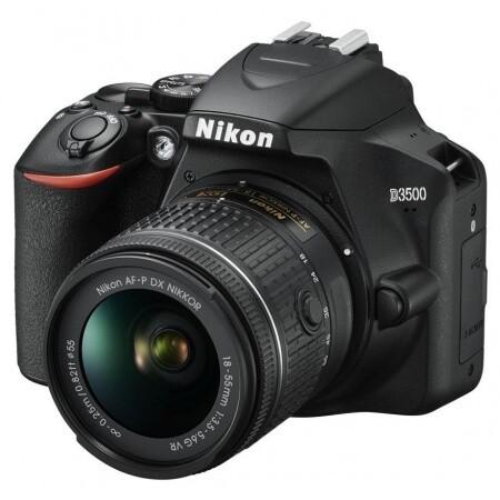Cámara Nikon D3500 24MP, Lente VR 18-55mm