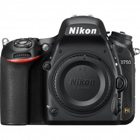 Cámara Nikon D750 FX Profesional, cuerpo sin objetivo