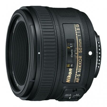 Lente Nikon AF-S FX 50mm F/1.8G