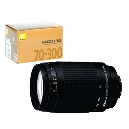Lente Nikon AF 70-300mm Modelo F/4.5-6G