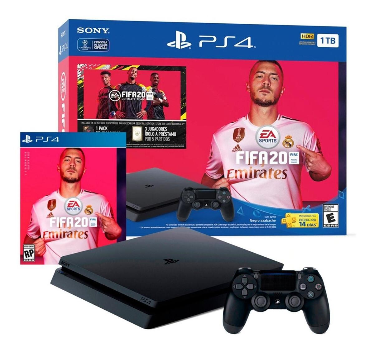 Playstation 4 Slim 1TB + FIFA 20