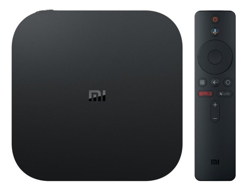 Tv Box Xiaomi Mi Box S 4k Chromecast Integrado