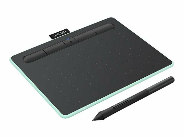 Wacom Intuos Tableta de lápiz creativa Small - Digitalizador - 15.2 x 9.5 cm