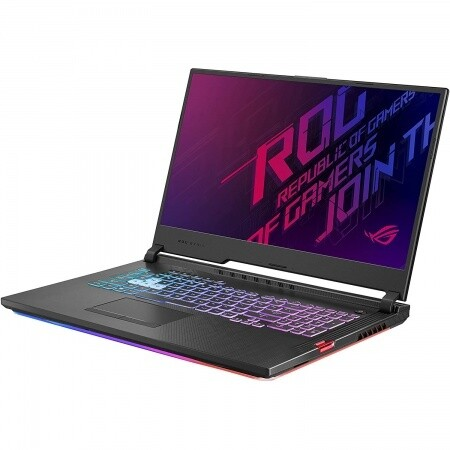 """Notebook Gamer Asus Core i7 4.5Ghz, 16GB, 512GB SSD, 17.3"""" FHD, RTX 2070 8GB"""