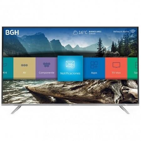 """TV LED 55"""" BGH 4K Ultra HD Smart"""