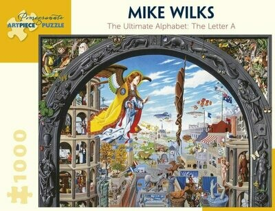 Mike Wilks The Ultimate Alphabet Letter A - 1000pc AA922