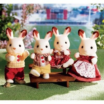 CC Hopscotch Rabbit Family