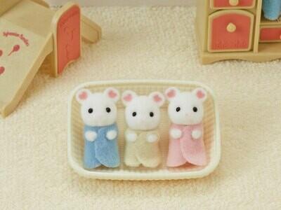 CC Marshmallow Mouse Triplets