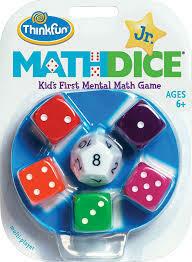 Math Dice Jr Game