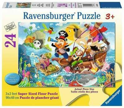 03042 Land Ahoy! 24pc Floor Puzzle