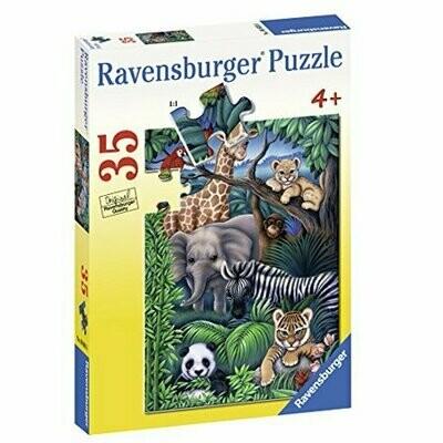 086016 Animal Kingdom 35pc Puzzle