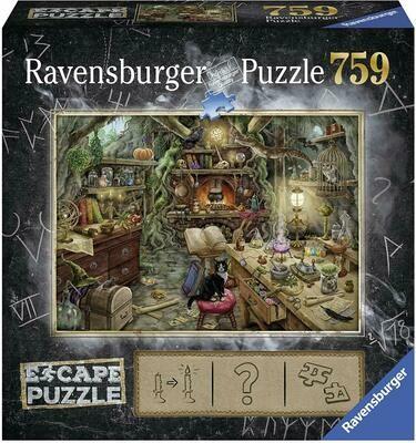 19958 The Witches Kitchen 759pc Escape Puzzle