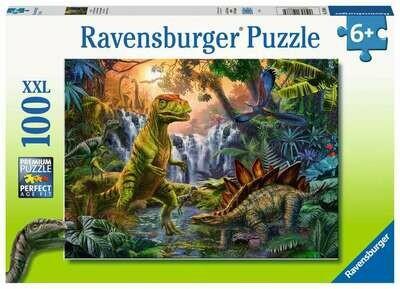 12888 Dinosaur Oasis 100pc Puzzle