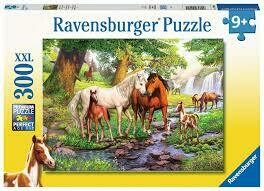 12904 Horses by the Stream 300pc Puzzle