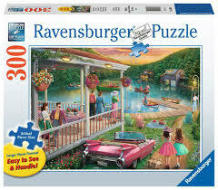 16438 Summer at the Lake 300pc Lrg Piece Puzzle