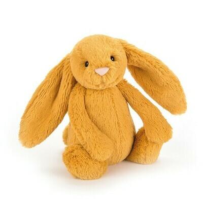 Bashful Saffron Bunny Med Plush