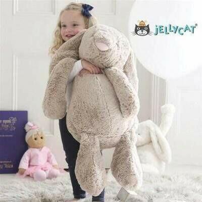 Really Big Bashful Beige Bunny