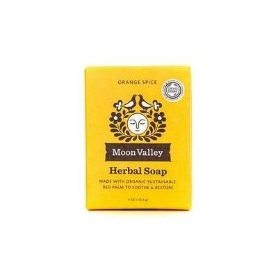 Orange Spice Herbal Soap - Moon Valley Organics