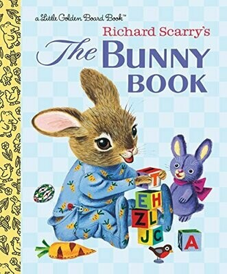 The Bunny Book - Scarry - Board Book