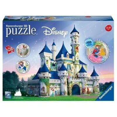 3D Disney Princess Castle 216pc Puzzle