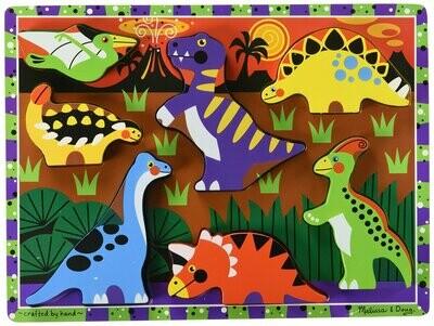 Chunky Puzzle Dinosaur Melissa & Doug