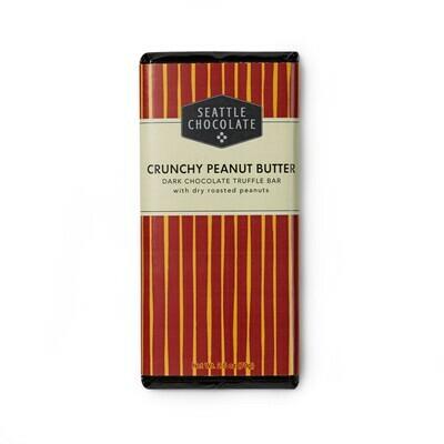 Crunchy Peanut Butter Seattle Chocolate Bar