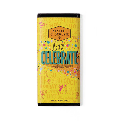 Let's Celebrate Seattle Chocolate Bar