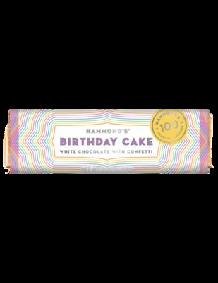 Birthday Cake White Chocolate Candy Bar - Hammonds