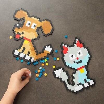 Jixelz Playful Pets 700pc Set