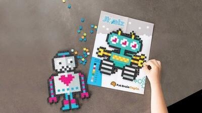 Jixelz Roving Robots 700pc Set