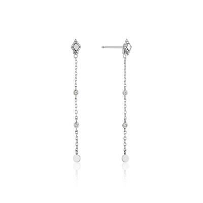 AH Bohemia Drop Earrings - Silver