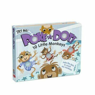 Poke-A-Dot 10 Little Monkeys - Board Book
