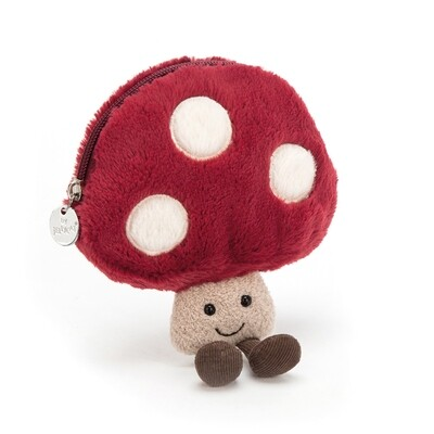JellyCat Amuseables Mushroom Coin Purse