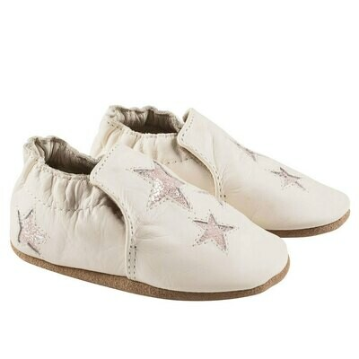 Robeez Ivory Aria 12-18mo Shoes